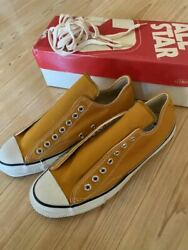 Men 9.0us Converse All-star Dead Vintage Mustard Gold Halves With Box Red