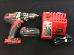 Milwaukee 2602-20 18v Li-ion 1/2 Cordless Hammer Drill/drive Charger 1 Battery