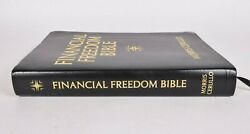 Financial Freedom Bible Morris Cerullo Kjv 2012 Very Good Faux Leather