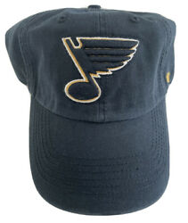 """Nhl St. Louis Blues Small '47 Franchise """"perfect Fit"""" Vintage Hockey Hat Cap"""