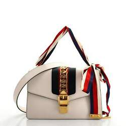 Gucci Sylvie Shoulder Bag Leather Small $1305.00