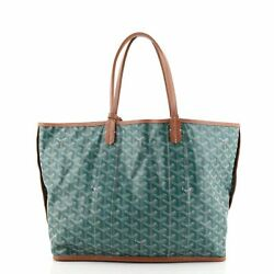 Goyard Anjou Reversible Tote Coated Canvas And Toile Canvas Pm