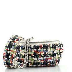 Convertible Waist Bag Tweed With Quilted Leather