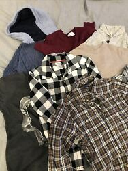 Lot-8 Pc Boys Fall Clothes Size 4/5-childrenandrsquos Place Gap Old Navyandhellip
