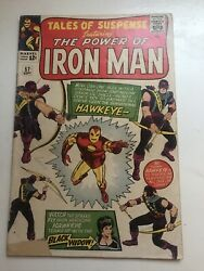 Tales Of Suspense Featuring Iron Man 57 1st Appearance Of Hawkeye Marvel Comics