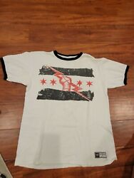 Rare 2011 Large Cm Punk Authentic Wwe Best In The World Shirt Mitb Chicago Aew