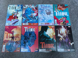Thor 1-8 Complete Lot 1st Appearance Jane Foster Thor 1 Variant Young