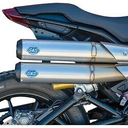 Sands Cycle Stainless Grand National 22 Exhaust System For 19-20 Indian Ftr 1200