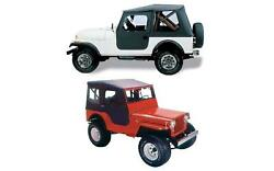 Bestop 51405-01 Tigertop Complete Soft Top For Jeep M38a1/cj5