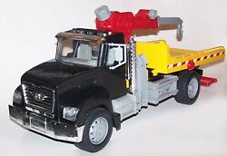 Battat Driven 21 Tow Truck Flat Bed Wrecker With Working Lights And Sounds