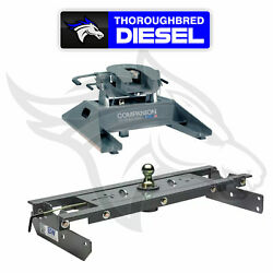 Bandw Hitches Companion 5th Wheel Hitch Rvk3500 With Gnrk1313 Goosneck Hitch