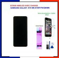 Andeacutecran Samsung Galaxy A70 Oled A705f/fn/ds/ Sm-a705 Avec Chassis + Outils+verre