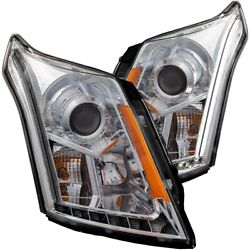 111307 Anzo Headlight Lamp Driver And Passenger Side New Lh Rh For Cadillac Srx