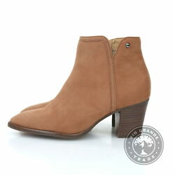 New Driver Club Usa Womenand039s Heeled Casual Ankle Boots In Leather - 5 Us