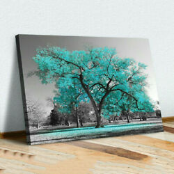 Large Tree Canvas Modern Wall Art Painting Picture Stretched Ready to hang