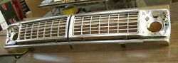 Nos Oem 1970 Ford Truck Grille Shell F100 F250 F350 Trim W/ Inserts Pickup