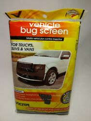 Victor Vehicle Auto Bug Screen For Trucks, Suvs And - 00905-8 - New