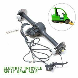 500w Electric Alloy Tricycle Split Rear Axle Parts Trike Brake Disc Assembly Us