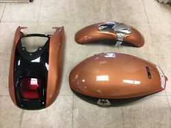 2008 Harley-davidson V-rod Custom Front And Rear Fenders And Air Box Cover