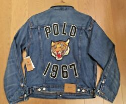 Polo Polo Tiger 1967 Denim Mens Jacket Limited Edition Big And Tall