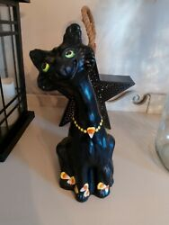Fenton Art Glass limited edition Halloween alley cat number 9 super beautiful