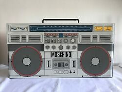 2170 Aw20 Moschino Couture Jeremy Scott Oversized Boombox Leather Shoulder Bag