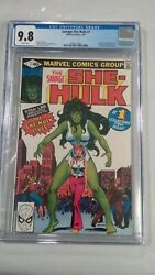 The Savage She Hulk 1 Comic Book Cgc 9.8 White Pages Show Coming Soon