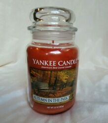 Yankee Candle large 22 oz. jar quot;Autumn in the Parkquot; **NEW**