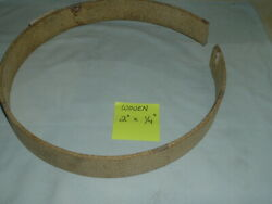 Nos - Woven Brake Lining 2 Wide X 1/4 Thick - Sold By The Foot