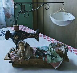 Yankee Candle Sewing machine Candle Tealight Votive holder