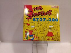 The Simpsons Wester Pacific 737 196 Of Only 1000 By Dragon Wings