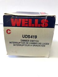 New Wells Uds419 Dimmer Switch 61-88 Chevrolet Buick Oldsmobile Free Shipping