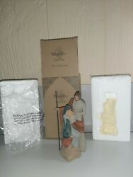 Willow Tree The Holy Family Sculpted Hand-painted Nativity Figure Boxed