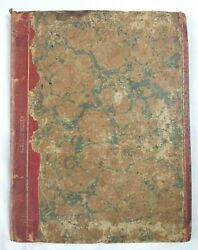 Famous Handwritten Poem Selections In Antique Notebook 1822 Multiple Authors