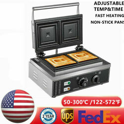 Commercial Sandwich Maker Panini Press Machine For Breakfast Grilled Cheese Egg