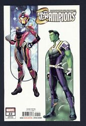 Champions 22 1st And Rare 2nd Print Nm Condition New Ironheart Armor 1st Brawn