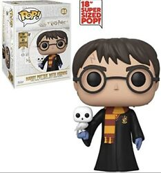 Funko Pop Movies - Harry Potter With Hedwig Super Sized 18andrdquo Inch Figure