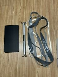 X3 Bar Elite And Bands Set Used At-home Exercise Black