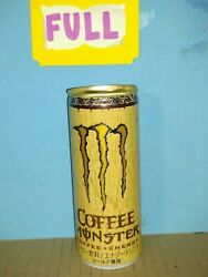 Rare In The Us Monster Energy Coffee From Japan Full Sealed Unopened Can