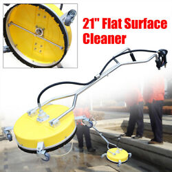 High Volume Pressure Cleaner Flat Surface Washer Driveway Concrete Usa 18/21in