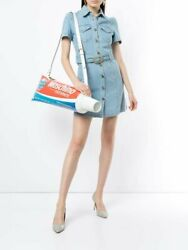 2257 Aw19 Moschino Couture Jeremy Scott Oversized Huge Toothpaste Shoulder Bag