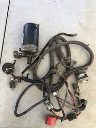 Cub Cadet Super Xt1 Main Wire Wiring Electrical Harness Ignition Switch And Key