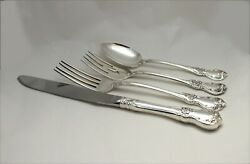 Towle Old Master Sterling Silver 4 Piece Place Setting - No Monogram