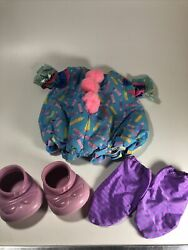 Vintage Cabbage Patch Kids Doll Clown Outfit Costume Clothes Shoes Socks Nice