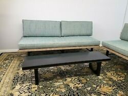 Mid Century Pair Of Daybeds Original Fabric Matching Pair Fresh From Estate