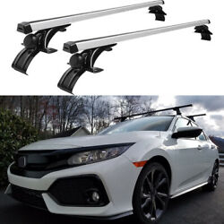For Honda Civic Hatchback 46car Top Roof Rack Cross Bar Luggage Bicycle Carrier