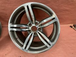19and039and039 Factory Wheel Front Rim Double Spoke Forged Bmw M6 Oem 2006-2010