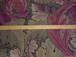 Sanderson amp; Sons Morris amp; Co 230271 Acanthus Tapestry Grape Upholstery Fabric