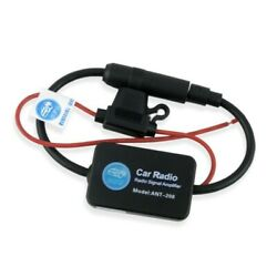 Ant-208 Active Cars Radio Antenna Amandfm Amplifier Booster 12v Portable Practical