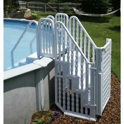 New Bluewave Steps Ladders And Fencing Ne138 Complete Stair Entry System W/gate